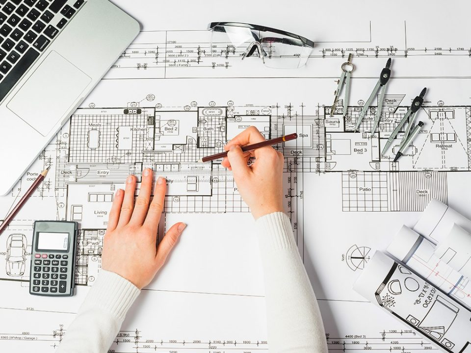 Projeto arquitetônico - Geotech Consultoria